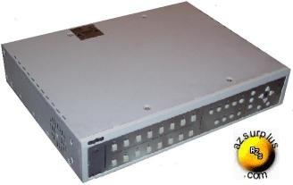 SANYO MPX-MD162 16 CHANNEL B&W DUPLEX MULTIPLEXER