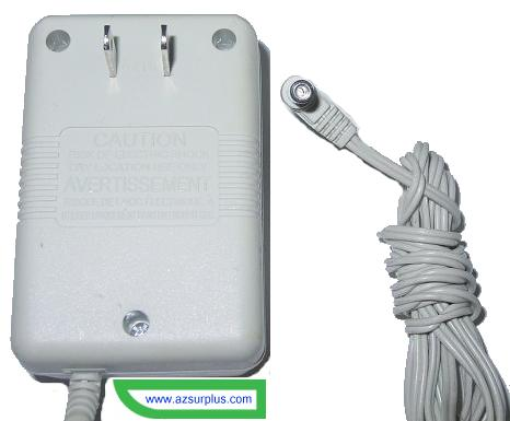 Sharper Image U120120D43 AC Adapter 12Vdc 1200mA -(+) 2.5x5.5mm