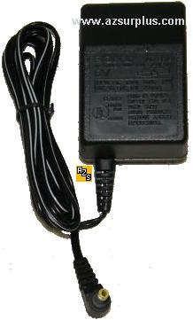 SONY LR87690 AC ADAPTER 6VDC 250mA Power Supply