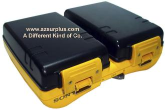 SONY NPA-SP7 2x Battery pack holder Used for handy cam sports 8m