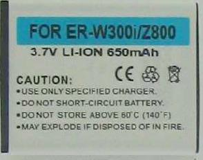 Battery ER-W300i 3.7V 650mAh LI-ION Rechargeable Sony Ericsson