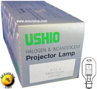 USHIO DMX 120V 500W Projection Lamp P28S ANSI Master slide film