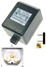 Wang WH-501E2C LOW VOLTAGE 12v 50W 3PIN HOLE TRANSFORMERS Used